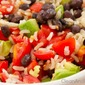 5-Minute Brown Rice And Black Bean Bowl