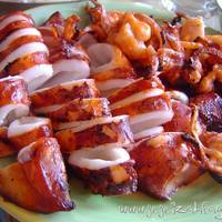 GRILLED PUSIT (squid)