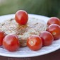 SIMPLE MEALS: Turkey Patt and Cherry Tomatoes