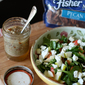 Autumn Spinach Salad with Pecan Vinaigrette
