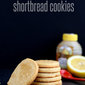 Honey Lemon Shortbread Cookies {and a surprise baby shower!}