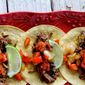 Brisket Tacos with Mango Barbecue Relish