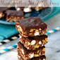 Dark Chocolate Marshmallow Nut Fudge Bars