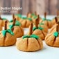 Peanut Butter Maple Cookies (Pumpkin Patch)