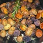 Roasted Petite Potatoes with Rosemary-Garlic Butter