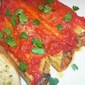 Sausage Manicotti with Three Cheeses