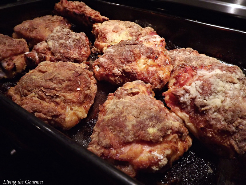 how to cook chicken thighs in the oven recipes