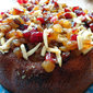 Mediterranean semolina cake
