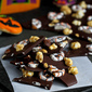 Moose Munch Chocolate Bark Recipe with Chocolate Pretzels
