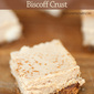Cinnamon Cheesecake Bars with Biscoff Cookie Crust