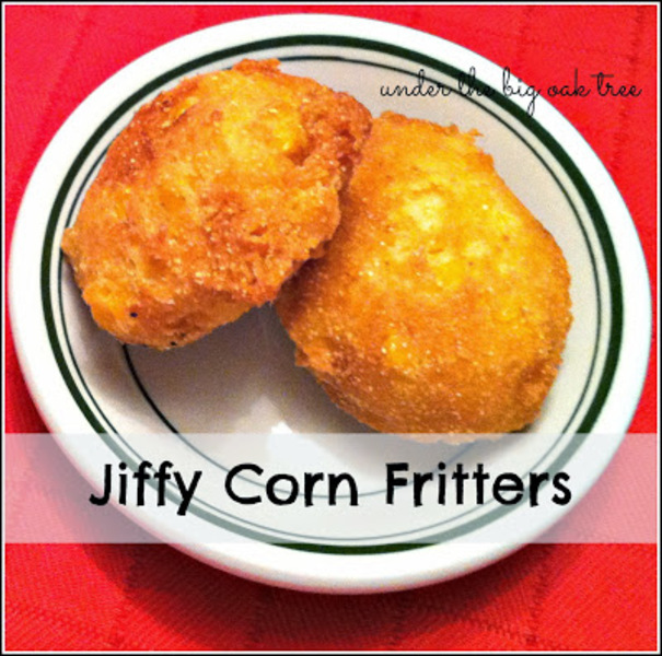 how to make corn fritters with jiffy