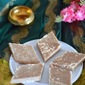 Badam Burfi recipe- Badam kathli- How to make almond fudge- Easy diwali sweet recipes