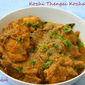 Kozhi Thengai Kozhambu (Recipe form Dakshin Delights by Sanjeev Kapoor)