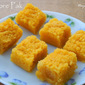 Mysore Pak (Recipe from Dakshin Bharath Dishes by Jaya V Shenoy)
