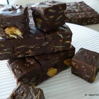 1-2-3 Chocolate Almond FUDGE