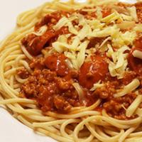 Meaty Filipino Style Spaghetti