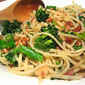 Linguine w/ Broccoli, Herbs & Hazelnut Crumbs