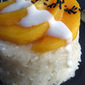 Sticky Coconut Rice with Mango