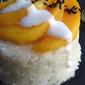 Sticky Coconut Rice with Mango