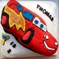 Great Bloggers Bake Off Week 10 – Thomas' 2nd Birthday Lightning McQueen Cake