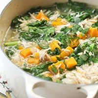 Chicken Stew with Butternut Squash and Kale (Gaps, Paleo, Grain-Free)