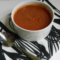 Creamy Homemade Tomato Soup