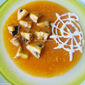 Happy Halloween With Pumpkin Mushroom Soup