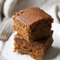The Great Pumpkin: Sticky Pumpkin Spice Gingerbread Cake