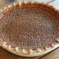 Sorghum Buttermilk Pie