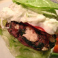 Greek Spinach Burgers