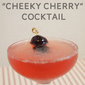 """Cheeky Cherry"" Gin Cocktail Recipe"