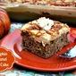 Easy Pumpkin Caramel Poke Cake