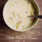 Potato, Corn & Bacon Chowder