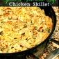 Spinach Artichoke Dip Chicken Skillet