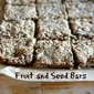Weelicious' Fruit and Seed Bars