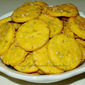 Rosemary and Olive Oil Sweet Potato Crackers