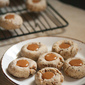 Cookie Week: Coffee Toffee Thumbprint Cookies