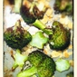 Roasted Broccoli with Toasted Almonds and a Smoky Paprika Dressing