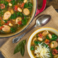 Chicken Sausage, Kale, and Cannellini Bean Soup
