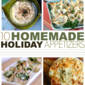 Homemade Holiday Appetizers Roundup