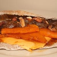Maple Butternut Squash & Balsamic Caramelized Onion Sandwich