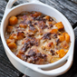 Butternut Squash and Gruyere Gratin