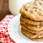 Giant Oatmeal Raisin Cookies