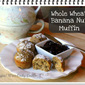 Banana Nut Muffins a Little Healthier