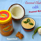 Coconut Chutney with Peanut Butter