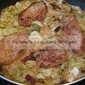 Pork with Creamy Cabbage