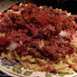 Quick and Easy Left-Over Meat Sauce