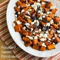 Recipe for Roasted Sweet Potatoes and Red Onions with Feta