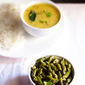 french beans foogath recipe, how to make goan french beans foogath