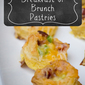 Bacon and Egg Breakfast or Brunch Pastries #PuffPastry